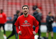 Chris Basham of Sheffield Utd during the English League One match at Bramall Lane Stadium, Sheffield. Picture date: April 17th 2017. Pic credit should read: Simon Bellis/Sportimage