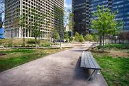 Belo Garden Park in Dallas, Texas. (PHOTO BY KEVIN BARTRAM)