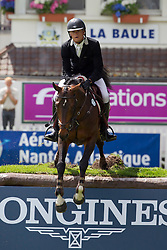 Guery Jerome (BEL) - Ramiro De Belle Vue<br /> Derby de la Region des Pays de la Loire<br /> CSIO La Baule 2011<br /> © Dirk Caremans