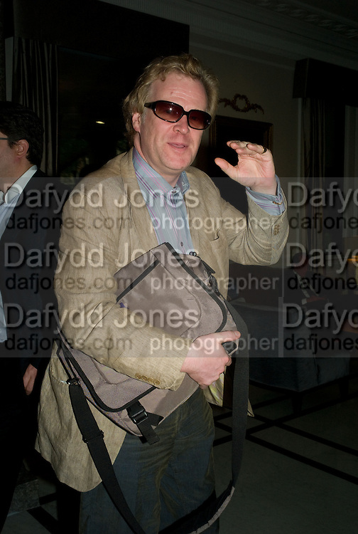 CHRISTOPHER SYLVESTER, The Spectator 180th Anniversary party, at the Churchill Hotel, London, 7 May 2008.  *** Local Caption *** -DO NOT ARCHIVE-© Copyright Photograph by Dafydd Jones. 248 Clapham Rd. London SW9 0PZ. Tel 0207 820 0771. www.dafjones.com.