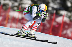 03.12.2017, Lake Louise, CAN, FIS Weltcup Ski Alpin, Lake Louise, Super G, Damen, im Bild Cornelia Huetter (AUT) // Cornelia Huetter of Austria in action during the ladie's Super G of FIS Ski Alpine World Cup in Lake Louise, Canada on 2017/12/03. EXPA Pictures © 2017, PhotoCredit: EXPA/ SM<br /> <br /> *****ATTENTION - OUT of GER*****
