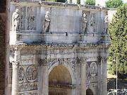 Italy, Rome, Arco di Constantino (Arch of Constantine)