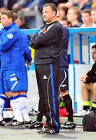 Football<br /> Carlisle United v Oldham Athletic, Carling Cup Round One, Brunton Park. Greg Abbott (Carlisle manager) <br /> 11/08/2009. Credit Colorsport / Darren Blackman