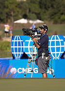 151122  Crack camera operator Kurt Miller during Sunday's Final Round of The CME Group LPGA Tour Championship at The Tiburon Golf Club, in Naples, Fl.(photo credit : kenneth e. dennis/kendennisphoto.com)