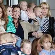 NLD/Amsterdam/20120604 - Vertrek Nederlands Elftal voor EK 2012, Sabia Boulahrouz