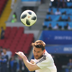 June 16, 2018 - Moscow, Russia - Russian Federation. Moscow. Arena Spartacus. FIFA World Cup 2018. Argentina - Iceland. Team player of Argentina Lionel Messi (Credit Image: © Russian Look via ZUMA Wire)