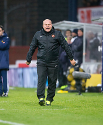Dundee United's manager Mixu Paatelainen. <br /> Dundee 2 v 1  Dundee United, SPFL Ladbrokes Premiership game played 2/1/2016 at Dens Park.