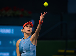March 9, 2019 - Indian Wells, USA - Belinda Bencic of Switzerland in action during her second-round match at the 2019 BNP Paribas Open WTA Premier Mandatory tennis tournament (Credit Image: © AFP7 via ZUMA Wire)