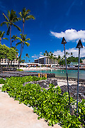 King Kamehameha Hotel and beach, Kailua-Kona, Hawaii