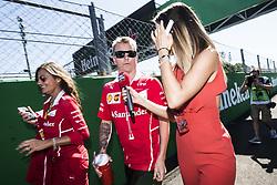 September 3, 2017 - Monza, Italy - Motorsports: FIA Formula One World Championship 2017, Grand Prix of Italy, .#7 Kimi Raikkonen (FIN, Scuderia Ferrari) (Credit Image: © Hoch Zwei via ZUMA Wire)