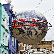 Photocall at  World Ocean Day - Project 0 Ambassadors unveil One Ocean One Planet on Carnaby Street, on 4 June 2019, London, UK.