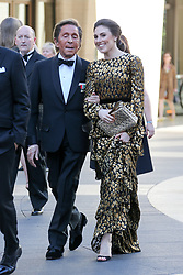 Valentino seen arriving at the American Ballet Theater Spring Gala in New York City. 21 May 2018 Pictured: Valentino. Photo credit: MEGA TheMegaAgency.com +1 888 505 6342