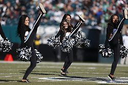 Philadelphia Eagles Cheerleaders perform before the NFL game between the Arizona Cardinals and the Philadelphia Eagles on Sunday, December 1st 2013 in Philadelphia. The Eagles won 24-21. (Photo by Brian Garfinkel)