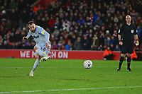 Football - 2018 / 2019 FA Cup - Third Round Replay: Southampton vs. Derby County<br /> <br /> Richard Keogh of Derby fires in his penalty to seal the shoot out at St Mary's Stadium Southampton <br /> <br /> COLORSPORT/SHAUN BOGGUST