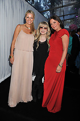 Left to right, TESS DALY, STEVIE NICKS and DAVINA McCALL at the Glamour Women of The Year Awards 2011 held in Berkeley Square, London W1 on 7th June 2011.