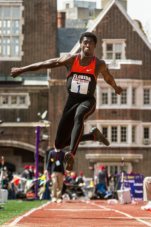 Penn Relays, mens triple jump, Marquis Dendy, Florida
