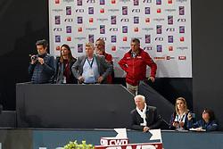 Conter Stefan, BEL, Deusser Daniel, GER, Cornet d'Amour<br /> LONGINES FEI World Cup™ Finals Paris 2018<br /> © Hippo Foto - Dirk Caremans<br /> 13/04/2018