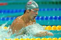 Alexander Dale Oen Norway 100m Breaststroke<br /> Pechino - Beijing 9/8/2008 Olimpiadi 2008 Olympic Games<br /> National Acquatic Centre <br /> Foto Andrea Staccioli Insidefoto