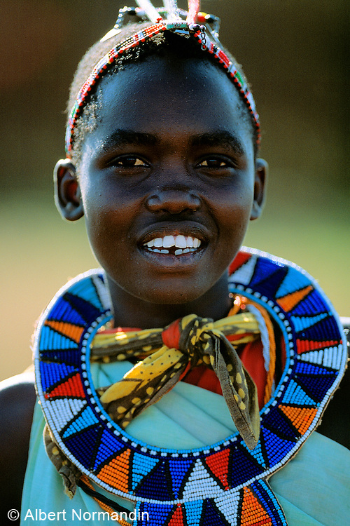 Blue Collar, Maasai Tribe woman