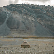 """A yurt at a Wakhi high pasture names """"Warm"""", below Garumdee Pass. Guiding and photographing Paul Salopek while trekking with 2 donkeys across the """"Roof of the World"""", through the Afghan Pamir and Hindukush mountains, into Pakistan and the Karakoram mountains of the Greater Western Himalaya."""
