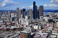 Seattle Skyline & International District