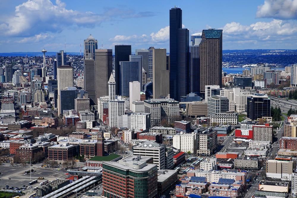 Seattle Skyline & International District