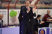 DESCRIZIONE : Pistoia Lega serie A 2013/14 Giorgio Tesi Group Pistoia Victoria Libertas Pesaro<br /> GIOCATORE : sandro dell agnello<br /> CATEGORIA : esultanza<br /> SQUADRA : Victoria Libertas Pesaro <br /> EVENTO : Campionato Lega Serie A 2013-2014<br /> GARA : Giorgio Tesi Group Pistoia Victoria Libertas Pesaro<br /> DATA : 24/11/2013<br /> SPORT : Pallacanestro<br /> AUTORE : Agenzia Ciamillo-Castoria/GiulioCiamillo<br /> Galleria : Lega Seria A 2013-2014<br /> Fotonotizia : Pistoia Lega serie A 2013/14 Giorgio Tesi Group Pistoia Victoria Libertas Pesaro<br /> Predefinita :