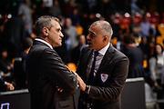 Allenatore Coach<br /> Pallacanestro Cantu' - Basket Leonessa Brescia<br /> Basket serie A 2016/2017<br /> Desio 29/01//2017<br /> Foto Ciamillo-Castoria
