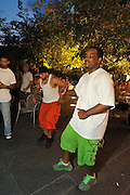 People dancing, partying, and having a good time at Lee Jones's Sundae dance party in 2011. This weekly event is held at Table 31 each Sunday in Center City.