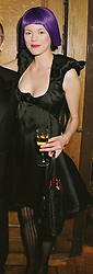 MISS JASMINE GUINNESS at a party in London on 22nd February 1999.<br /> MON 189 WO