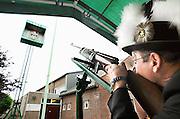 Nederland, Millingen, 25-7-2010Het jaarlijkse koningsschieten. Een belangrijk feest voor deze gemeenschap, in de ooijpolder.Foto: Flip Franssen/Hollandse Hoogte