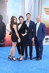 "Stars attend the ""Wonder Woman"" world Premiere in Los Angeles. 25 May 2017 Pictured: Jessica Altman, Lynda Carter, James Altman, Robert A. Altman. Photo credit: IPA/MEGA TheMegaAgency.com +1 888 505 6342"
