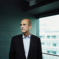 LEVALLOIS-PERRET, FRANCE. MAY 16, 2013. Patrick Kron, Alstom's CEO, in a conference room at his headquarter. Photo: Antoine Doyen