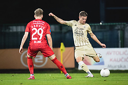 Luka Bobičanec of Mura  during football match between NS Mura and AGF Aarhus in Second Round of UEFA Europa League Qualifications, on September 17, 2020 in Stadium Fazanerija, Murska Sobota, Slovenia. Photo by Blaz Weindorfer / Sportida