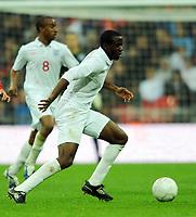 England U21/Portugal U21 European Under 21 Championship 14.11.09 <br /> Photo: Tim Parker Fotosports International<br /> Fabrice Muamba England Under 21's 2009/10