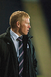 Falkirk's new manager Gary Holt..Falkirk v Dumbarton, 16/4/2013.