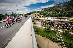 Peloton in Store during 3rd Stage of 25th Tour de Slovenie 2018 cycling race between Slovenske Konjice and Celje (175,7 km), on June 15, 2018 in  Slovenia. Photo by Vid Ponikvar / Sportida