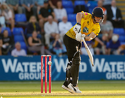 Gloucestershire's Miles Hammond in action today  <br /> <br /> Photographer Simon King/Replay Images<br /> <br /> Vitality Blast T20 - Round 8 - Glamorgan v Gloucestershire - Friday 3rd August 2018 - Sophia Gardens - Cardiff<br /> <br /> World Copyright © Replay Images . All rights reserved. info@replayimages.co.uk - http://replayimages.co.uk