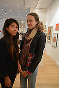 HIROE FUJISAKI; IMOGEN POTTER, 20/21 British Art Fair. Celebrating its 25 Anniversary. The Royal College of Art . Kensington Gore. London. 12 September 2012.