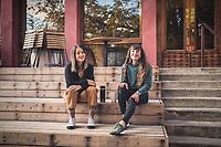 Coffee meet up with Marina Inoue and Lauren Batcheck
