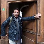 Piccolo Teatro Grassi, Milano, Italia, 9 Aprile 2021. Luca D'Addino, 34 anni, attore.