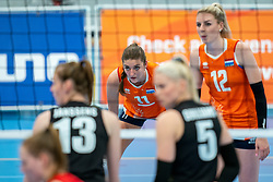 Anne Buijs of Netherlands  in action during the Women's friendly match between Netherlands and Belgium at Sporthal De Basis on may 19, 2021 in Sliedrecht, Netherlands (Photo by RHF Agency/Ronald Hoogendoorn)
