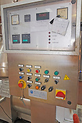 centrifugation unit control panel bodegas frutos villar , cigales spain castile and leon