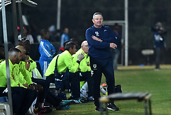 South Africa: Johannesburg: Bidvest Wits coach Gavin Hunt; gestures duing his team and  Polokwane City during the Absa Premiership at Bidvest Stadium; Gauteng.; Picture: Itumeleng English: African News Agency