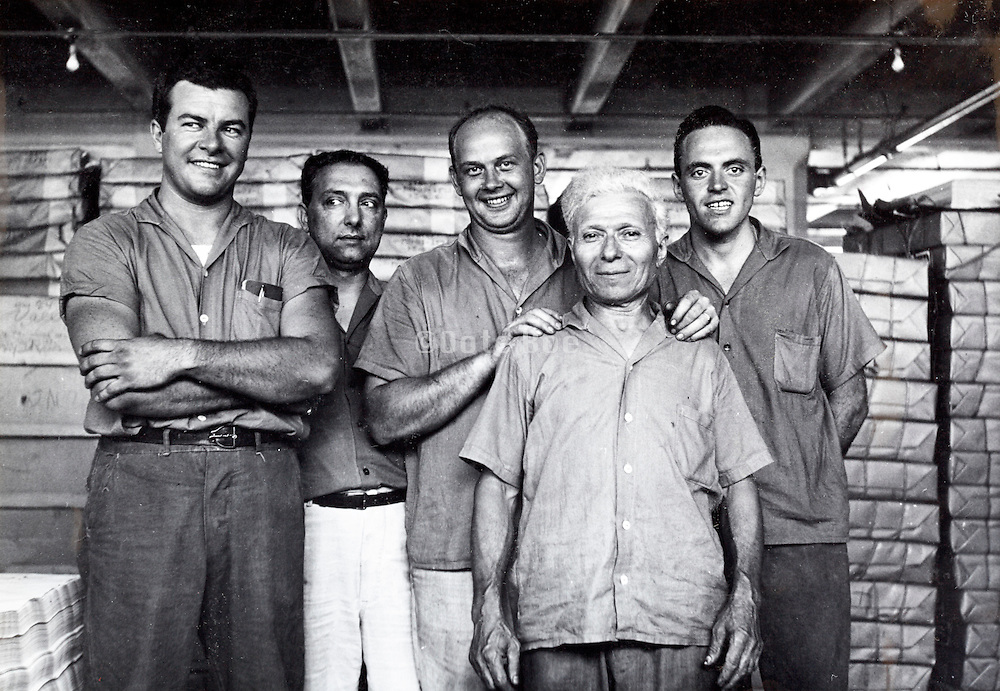 factory workers USA 1940s