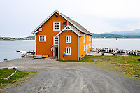 Norway, Troms. There has been a trading post at Sandtorgholmen since the early 13th century.
