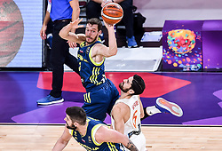 Goran Dragic of Slovenia vs Joan Sastre of Spain during basketball match between National Teams of Slovenia and Spain at Day 15 in Semifinal of the FIBA EuroBasket 2017 at Sinan Erdem Dome in Istanbul, Turkey on September 14, 2017. Photo by Vid Ponikvar / Sportida