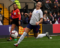 October 6, 2018 - Nottingham, England, United Kingdom - Nottingham England - October 06:.Lucy Bronze of England.during International Friendly between England Women and Brazil Women at Meadow Lane stadium , Notts County FC, Nottingham, England on 06 Oct 2018. (Credit Image: © Action Foto Sport/NurPhoto/ZUMA Press)