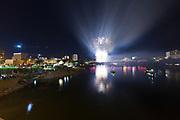 Saturday night fireworks at the 2011 PotashCorp Fireworks Festival in Saskatoon