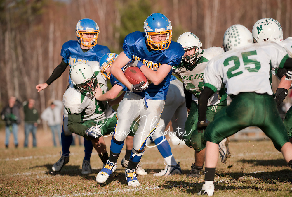 Gilford versus Newfound football November 6, 2010.